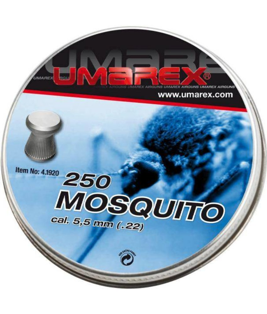 Umarex Mosquito 5.5mm Pellets 250pcs (0.83g)