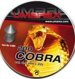 Umarex Cobra 5.5mm Pellets 200pcs (1.02g)