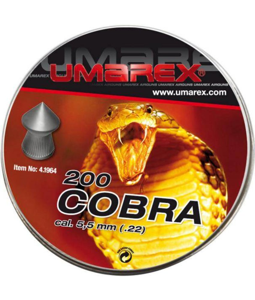 Umarex Cobra 5.5mm Pellets 200pcs (1.02g)