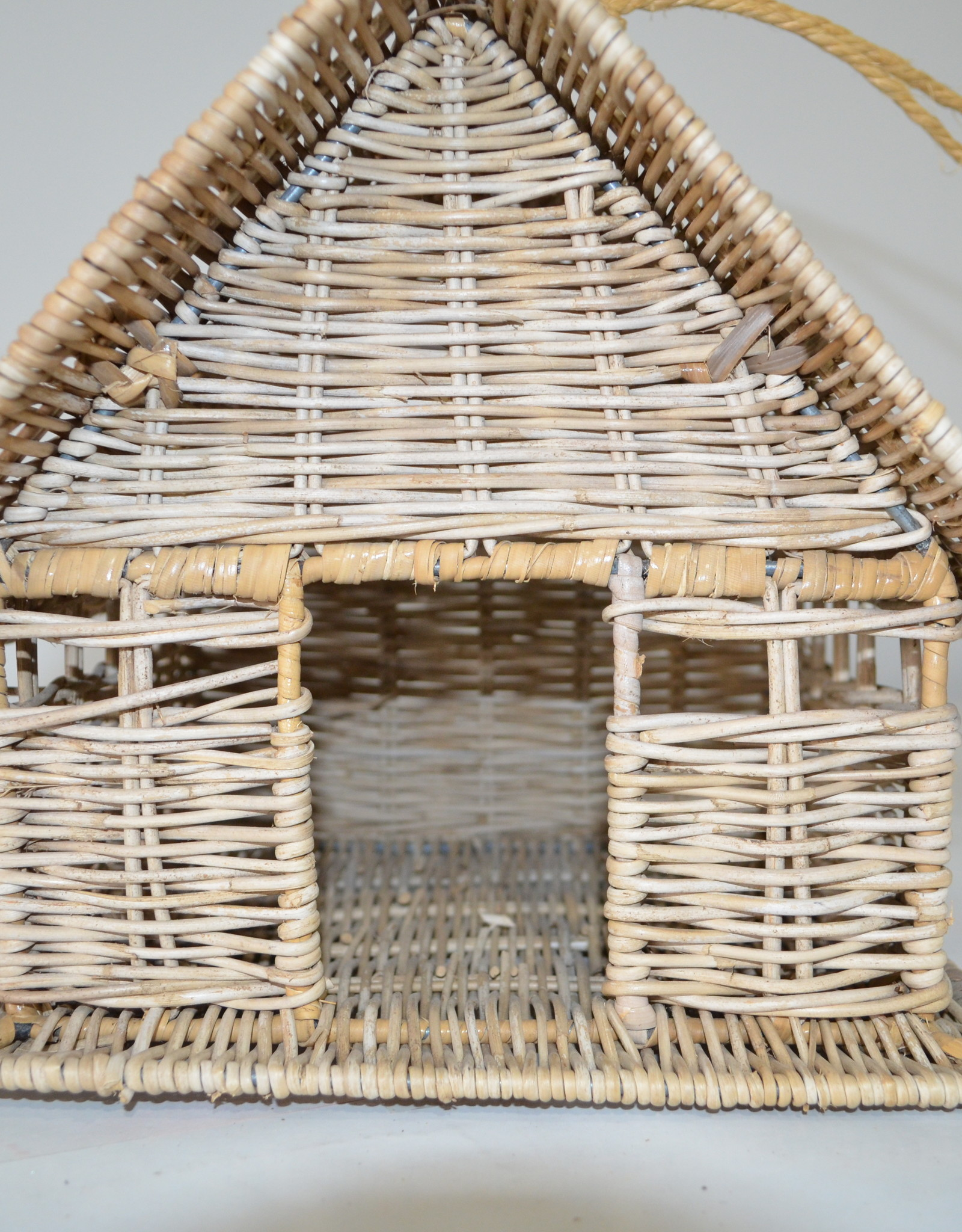 Teak-One rieten vogel nest