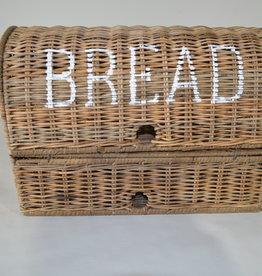 Teak-One Rieten brood mand
