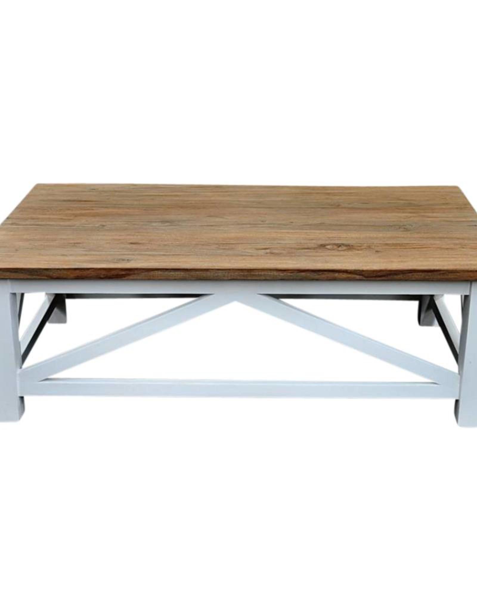 Cross table basse