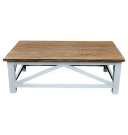 Cross table basse
