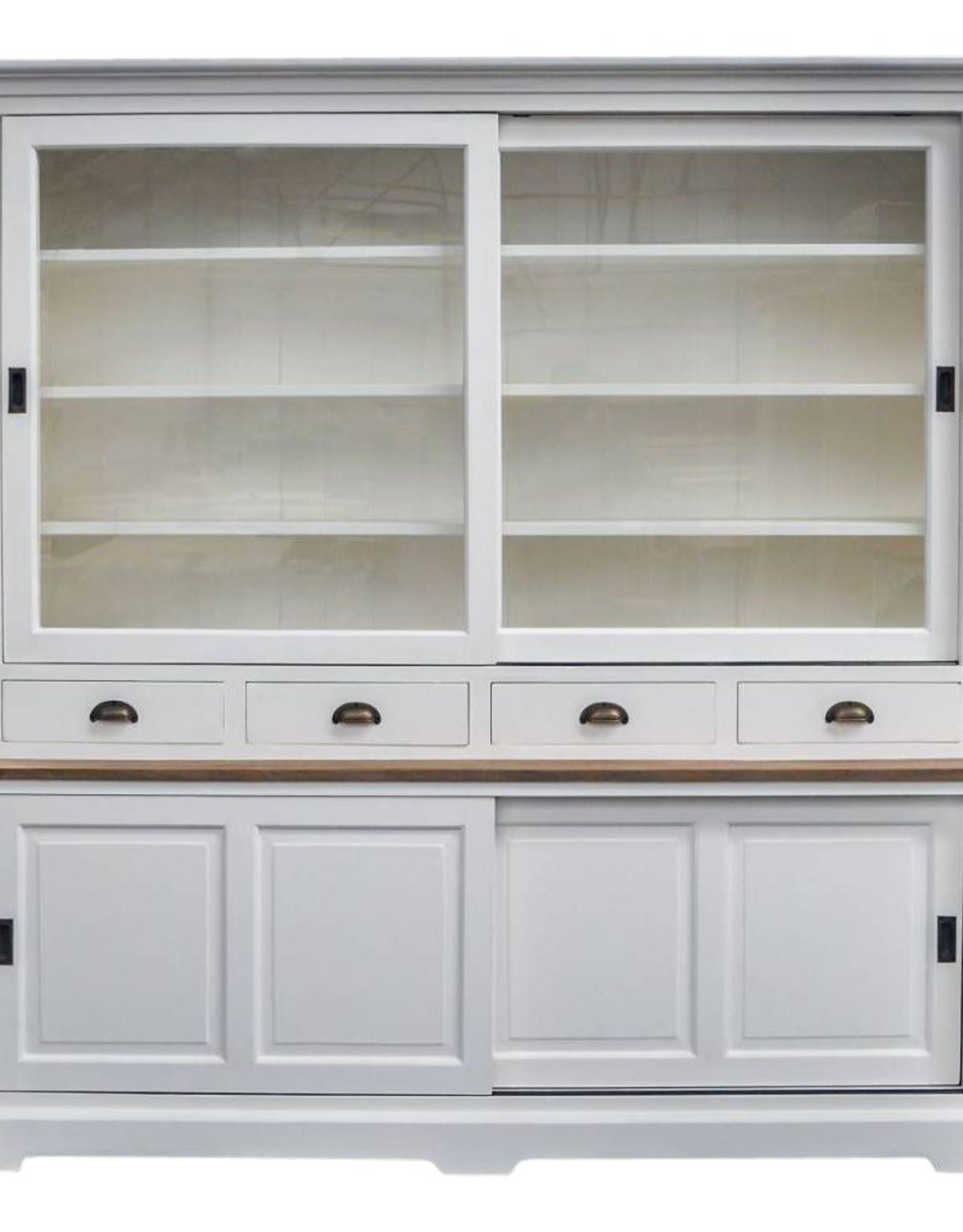 Wandkast wit