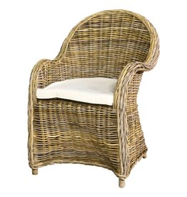 Teak-One Bonsum chaise avec coussin