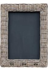 Krijtbord met riet