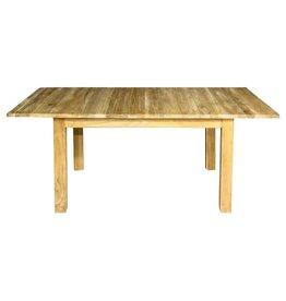 Togo uittrekbare tafel in teak