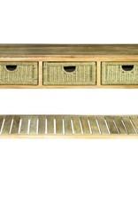 Console tafel met schuiven