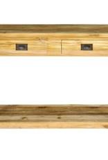 Console tafel met 2 lagen en schuiven
