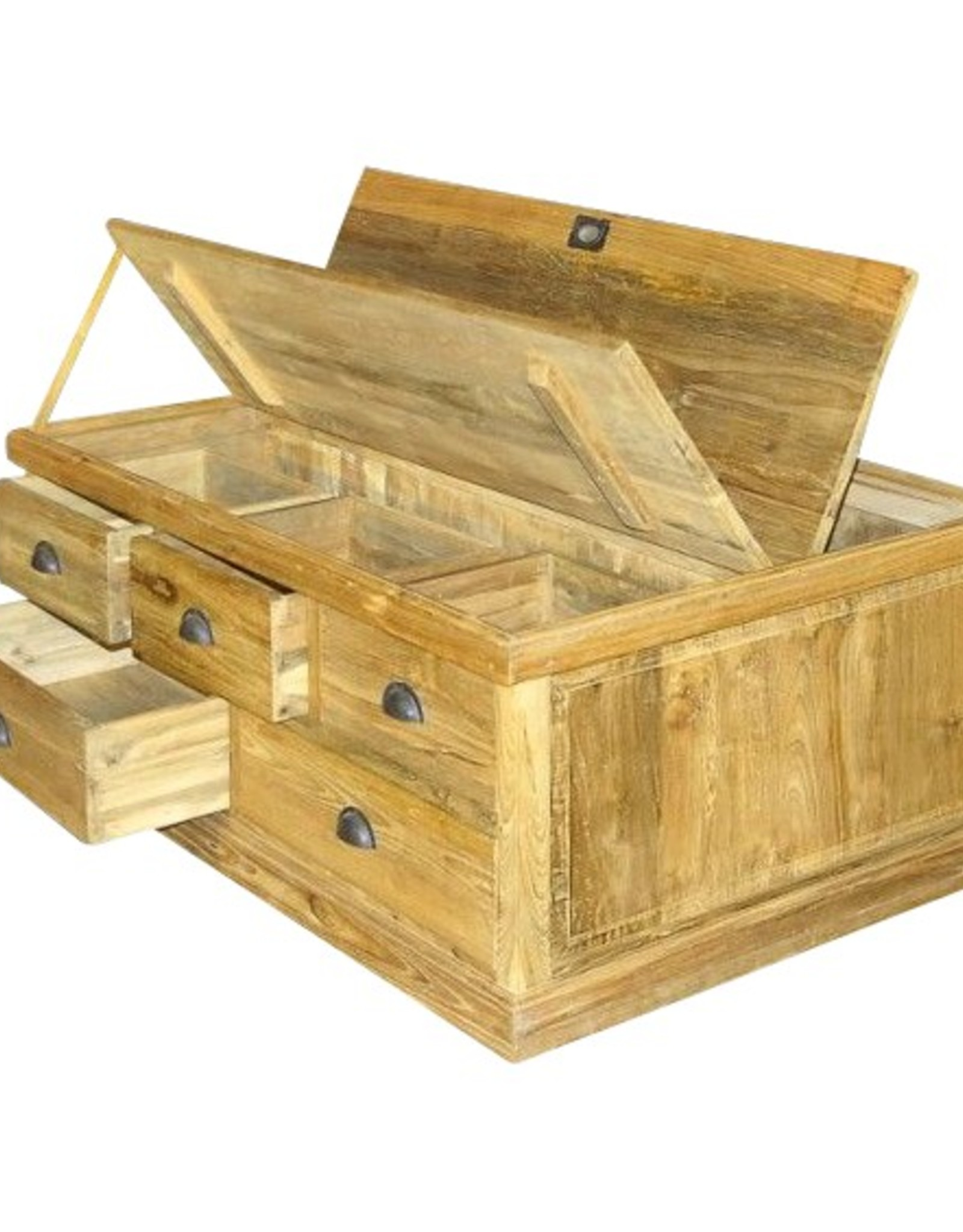 Koffer salon tafel