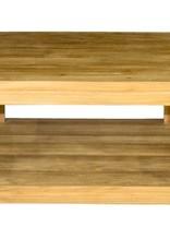 Vierkante koffietafel 90x90x45