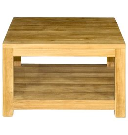 Vierkante salontafel 80x80x45