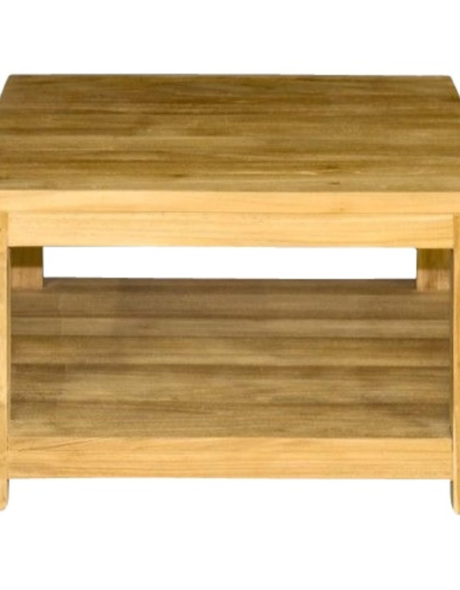 Vierkante koffietafel 60x60x45