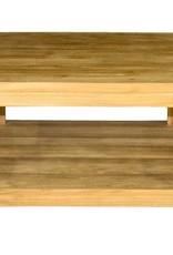 Vierkante koffietafel 50x50x45