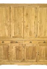 Alaska wandkast met 8 houten draaideuren