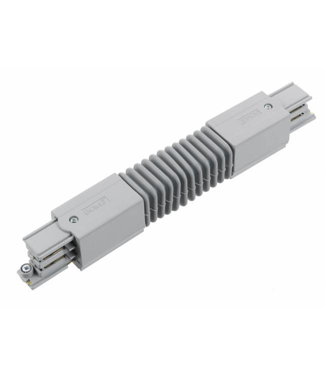 3fase rail grijs - flexibel hoekstuk XTS23-1