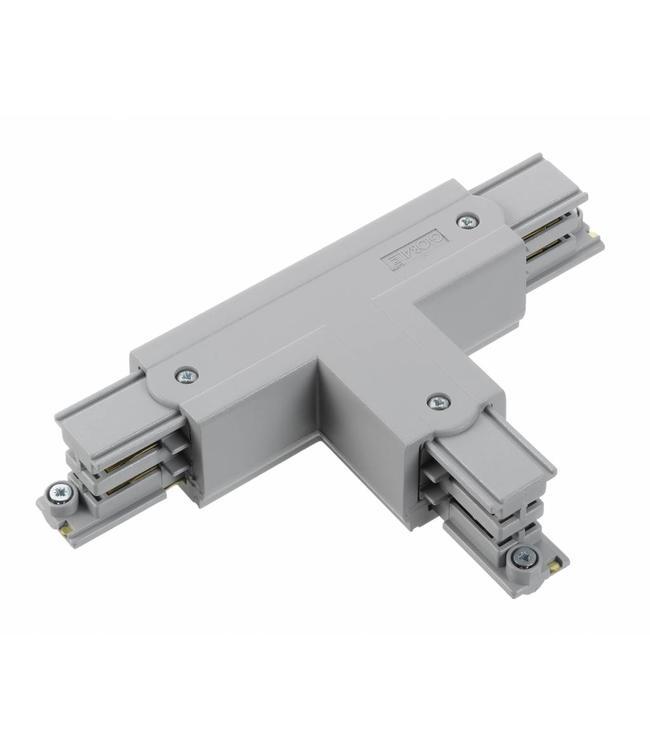 3fase rail grijs - T-stuk XTS36-1