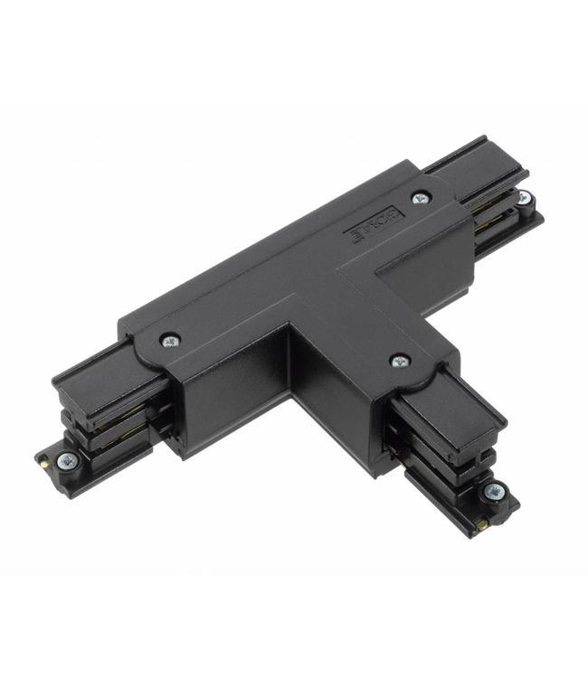 3fase rail zwart - T-stuk XTS37-2