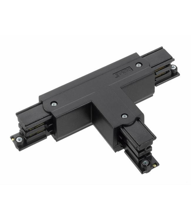 3fase rail zwart - T-stuk XTS40-2