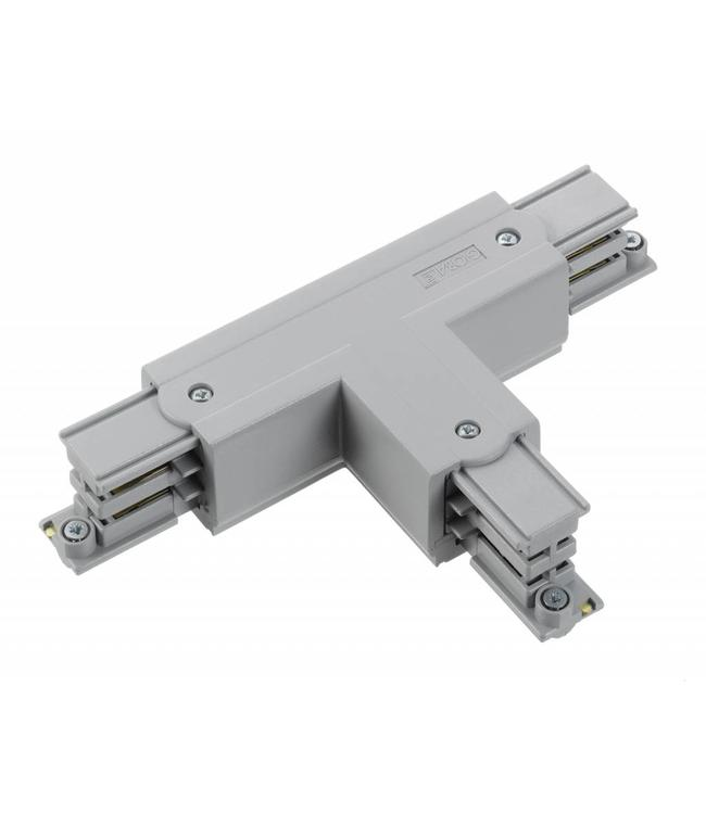 3fase rail grijs - T-stuk XTS40-1