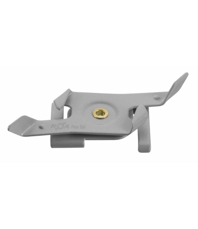 Rail klem systeemplafond  - grijs