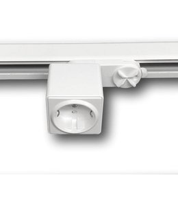 Stopcontact 3fase rail wit