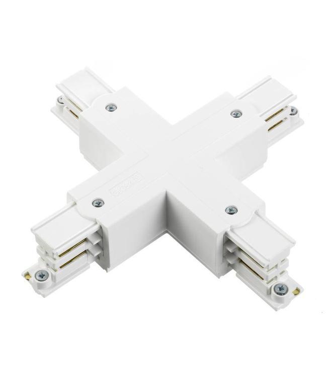 3fase rail wit - kruisverbinding XTS38-3