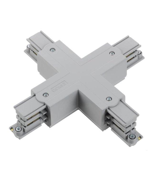 3fase rail grijs - kruisverbinding XTS38-1