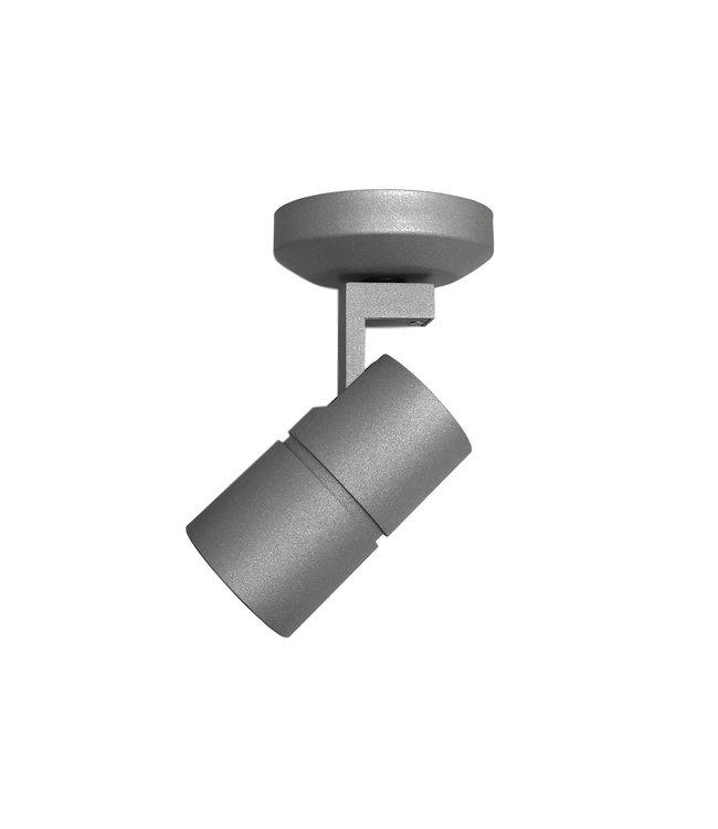 TUBY GU10 grijs- opbouwspot
