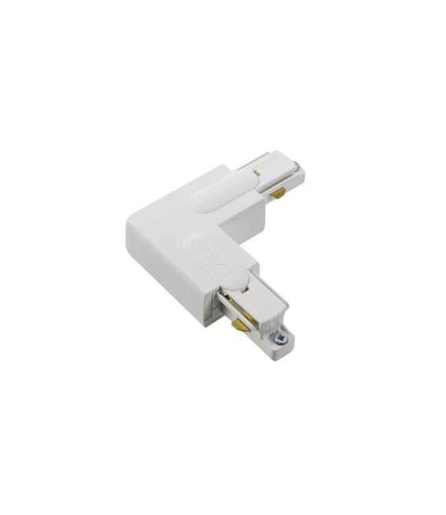 1fase rail wit - hoekstuk GB35-3