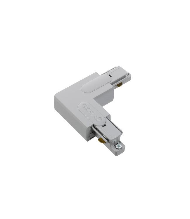 1fase rail grijs- hoekstuk GB35-1