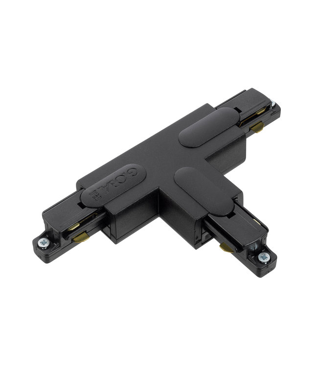 1fase rail zwart - T-stuk GB37-2