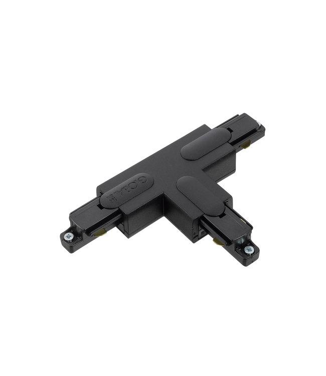 1fase rail zwart - T-stuk GB39-2