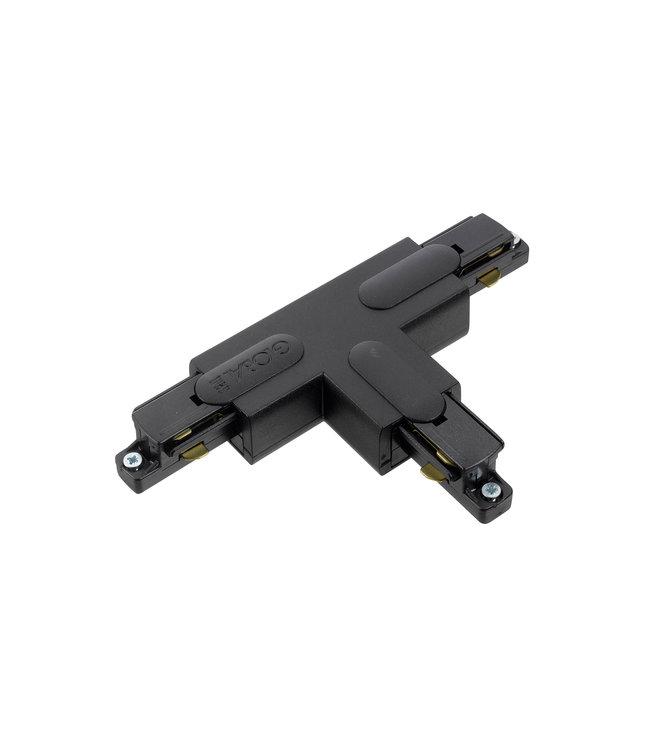 1fase rail zwart - T-stuk GB40-2