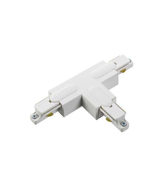 1fase rail wit - T-stuk GB39-3