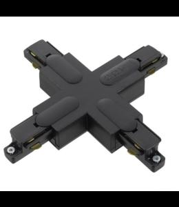 1fase rail zwart - kruisverbinding GB38-2