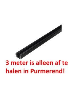 1fase rail zwart 3 meter GB 2300-2
