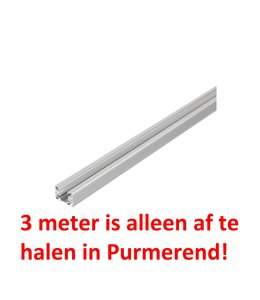1fase rail grijs 3 meter GB 2300-1