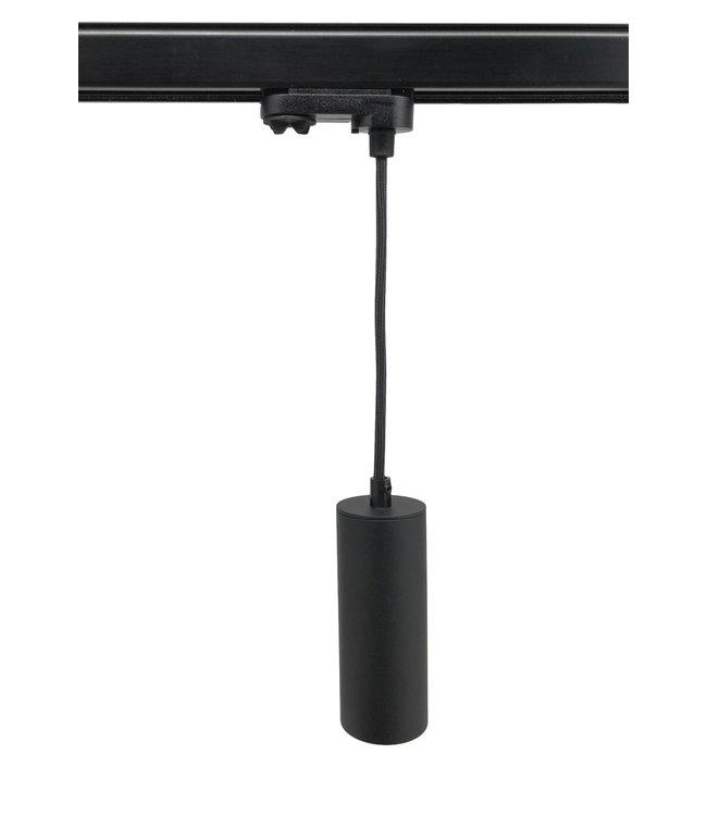 Hanglamp MODERN XL GU10  zwart 3fase