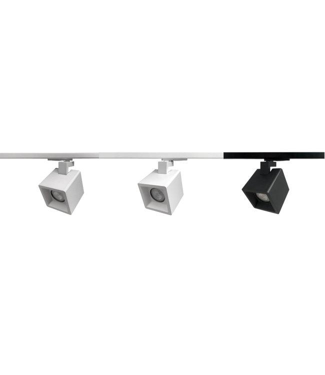1F Set KUBY GU10 - 1 meter middenvoeding
