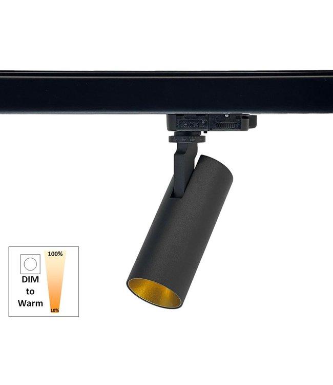 Railspot SLIMM-50 zwart/goud 1800K-3000K