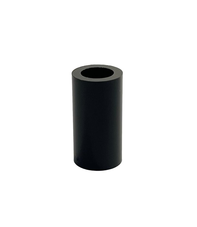 Opvulbus zwart 30mm  Ø16mm