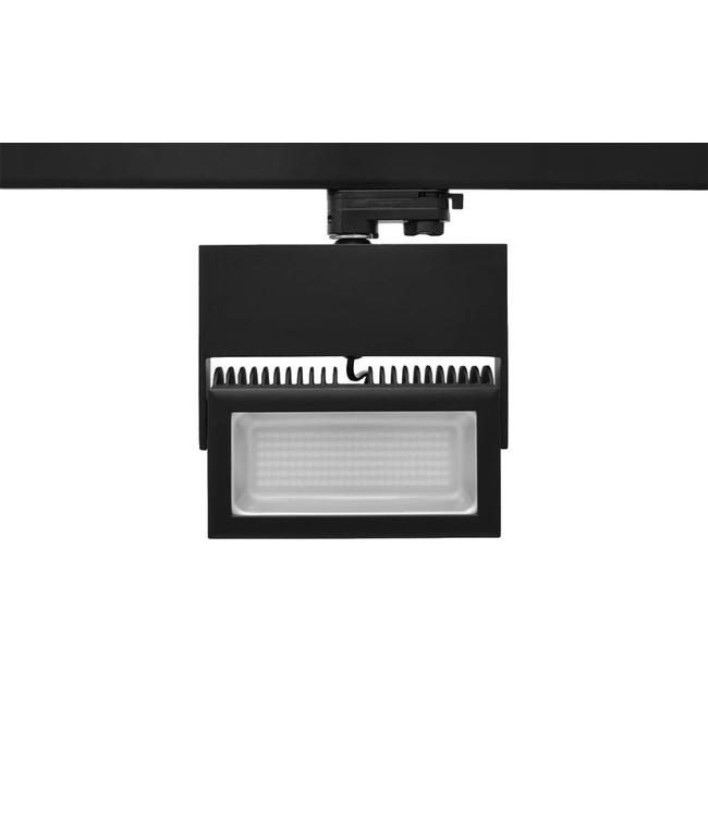 SMD 50W 3000K - zwart -  4050 Lumen