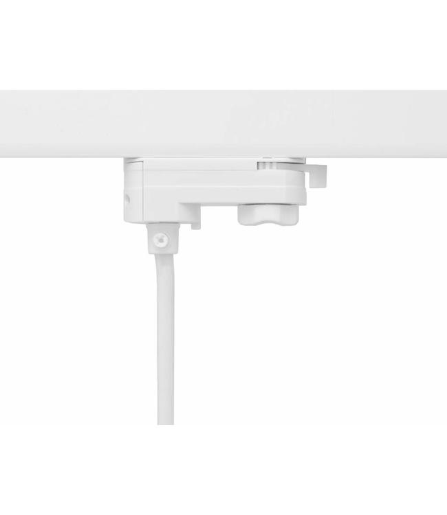 3fase rail wit - hanglamp connector