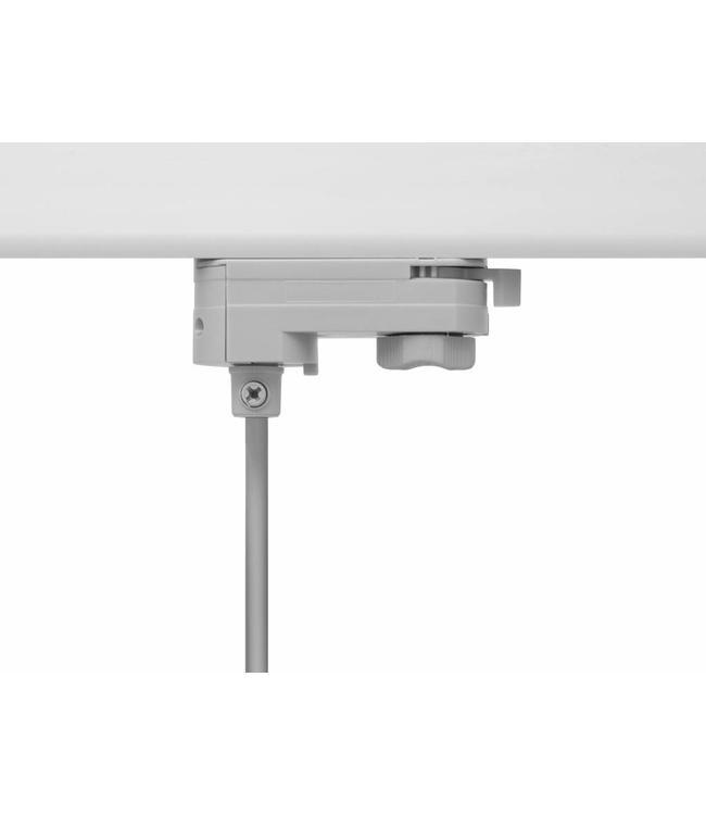 3fase rail grijs - hanglamp connector
