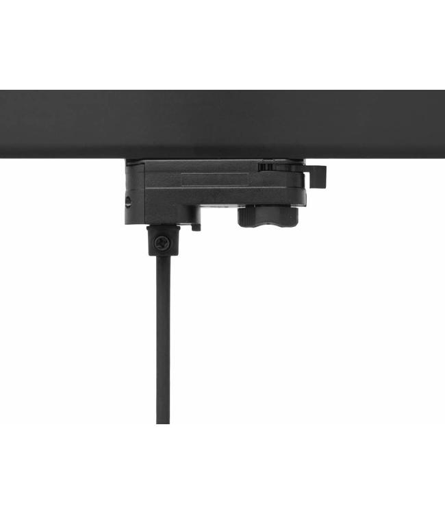 3fase rail zwart - hanglamp connector