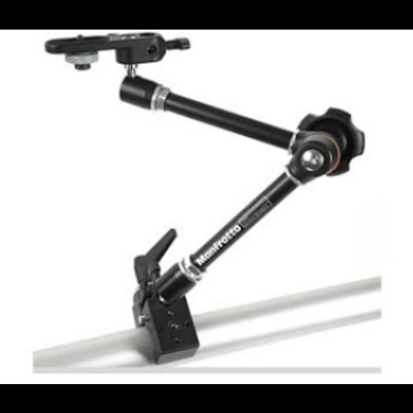 Flexibele camera arm voor snel en eenvoudig bevestigen van een (highspeed) camera