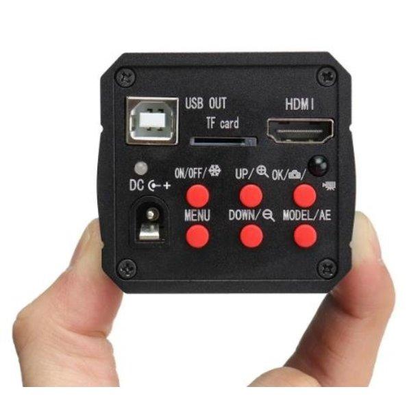 HDMI-livebeeld kleuren-camera direct op een standaard HDMI-Monitor