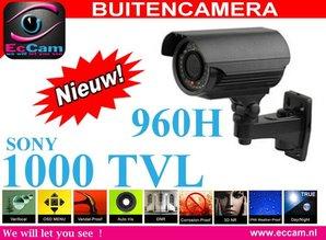 Sony 1000 TVL Buitencamera