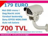 Buiten camera 700 TVL